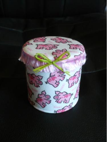 serviette cochon