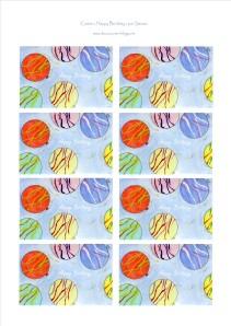 cartes YoYo balloons