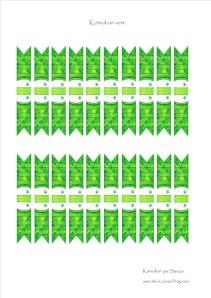 koinobori vert à télécharger