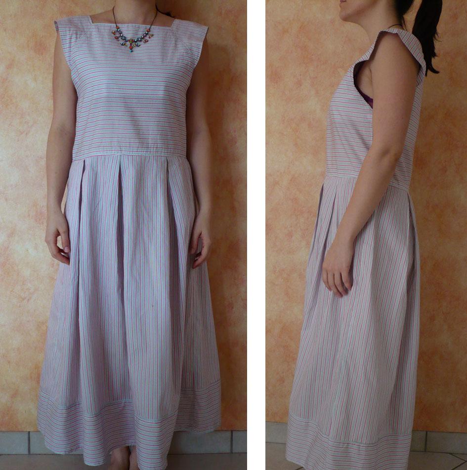 robe couture japonaise 1 2 3 piquez tout droit