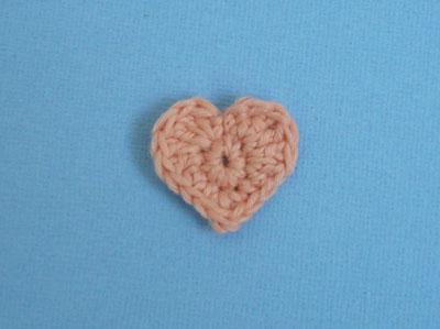 coeur à crocheter facile