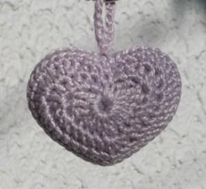 coeur porte clés crochet