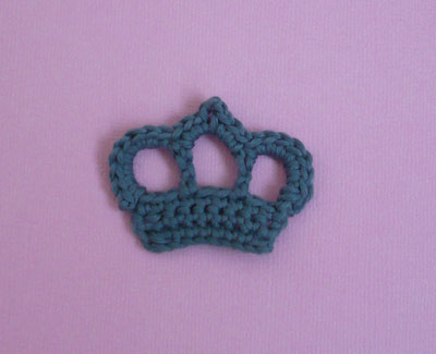 couronne à crocheter