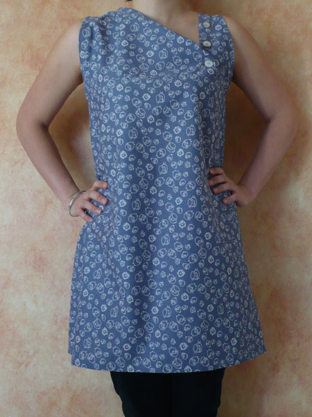 tunique robe couture japonaise