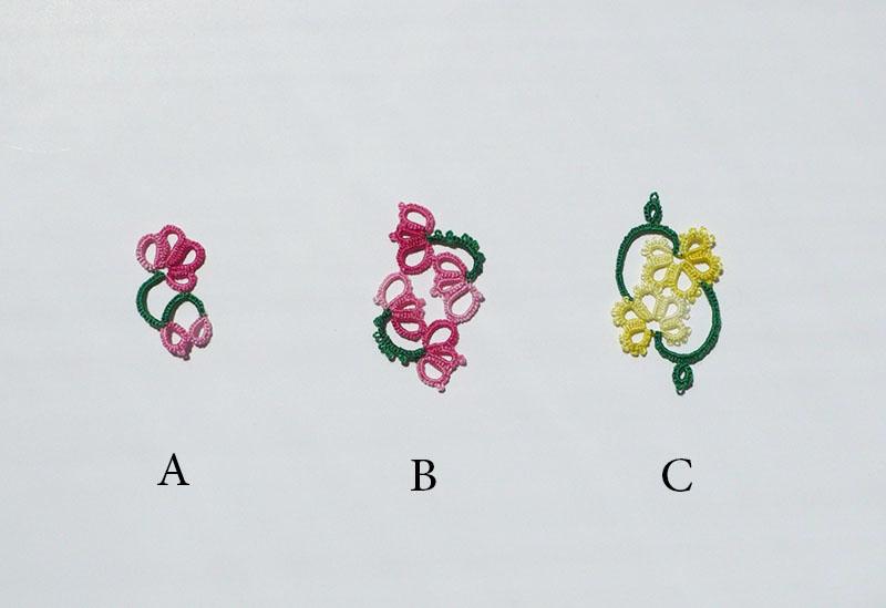 fleur frivolité 4