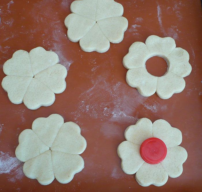fleurs biscuits