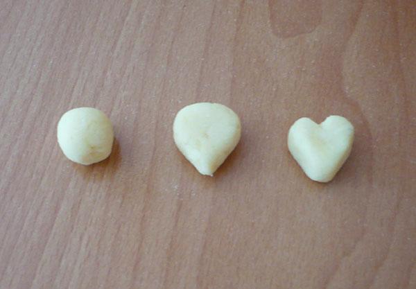 gnocchi coeur cute food 2