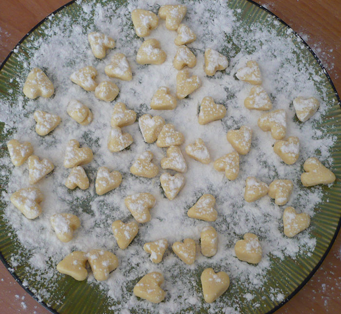 gnocchi coeur recette