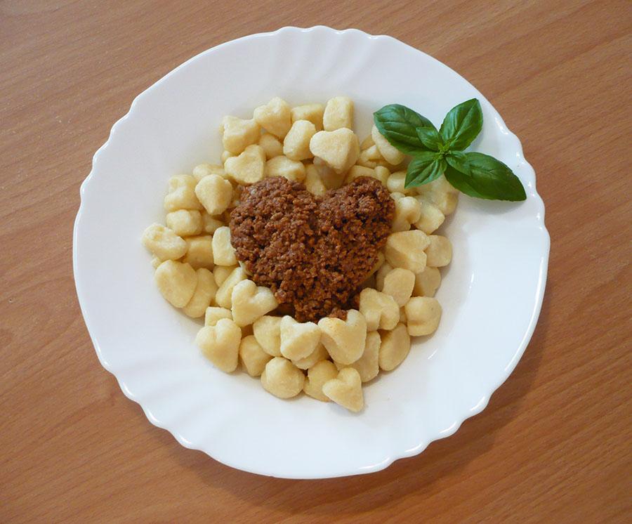 gnocchi coeur sans gluten recette