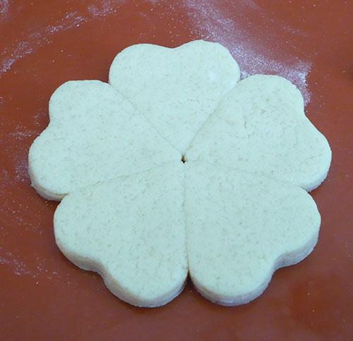 grosse fleur biscuit tuto vitraux
