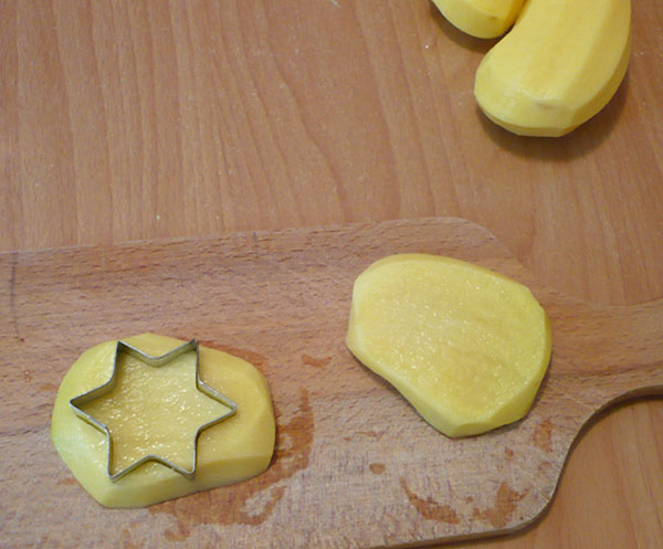 pomme de terre étoile