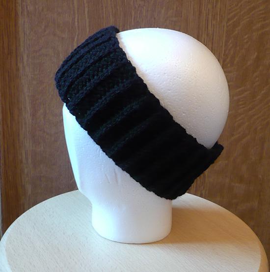 bandeau cache oreilles crochet