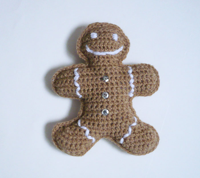 bonhomme pain d'épices crochet diy 3
