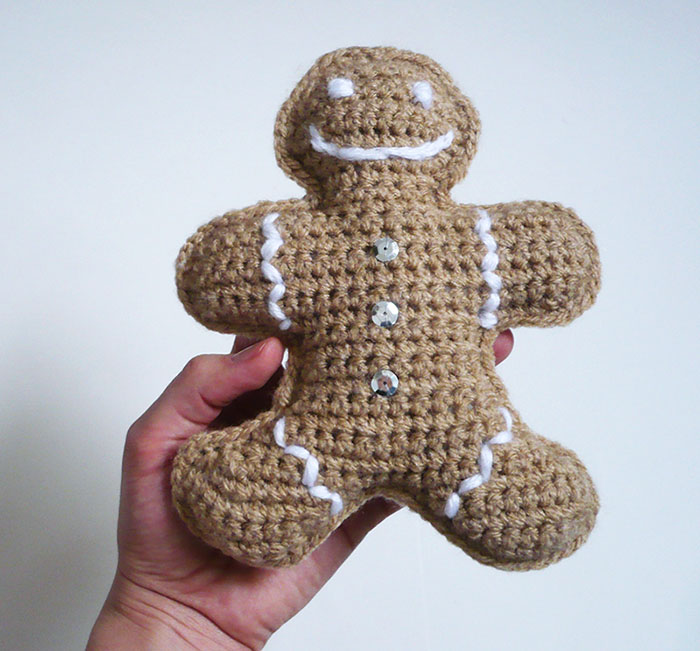 bonhomme pain d'épices crochet diy