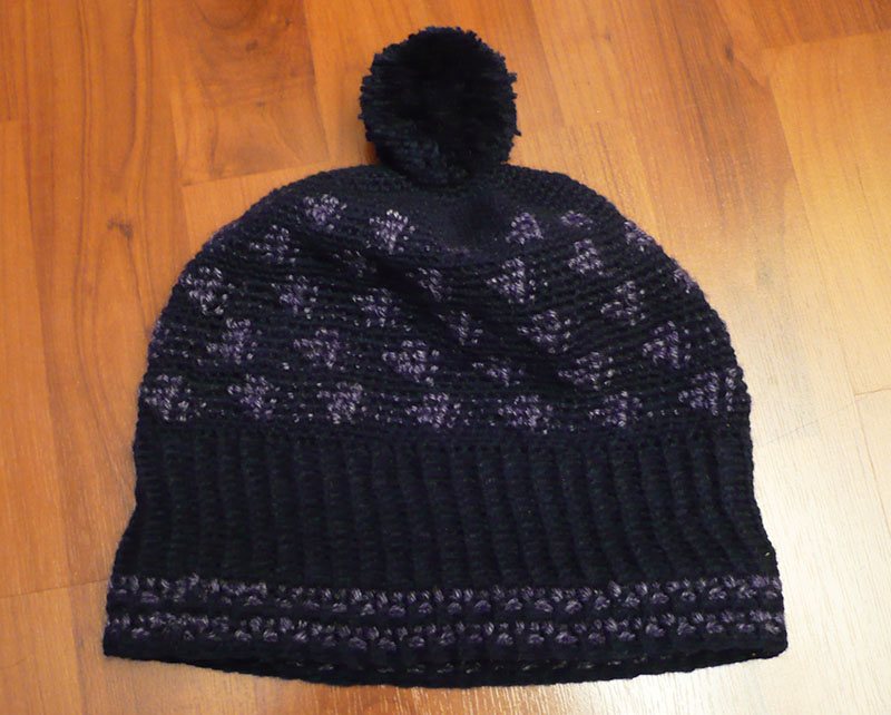 bonnet homme crochet simply 1