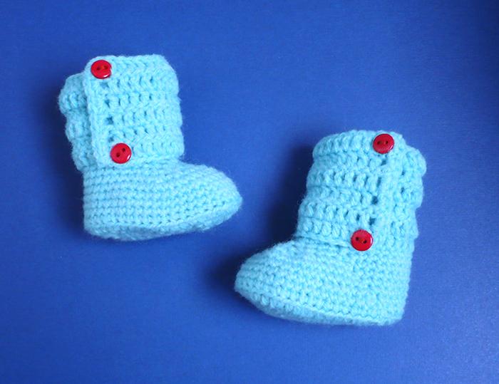 bottines chausson bébé préma crochet