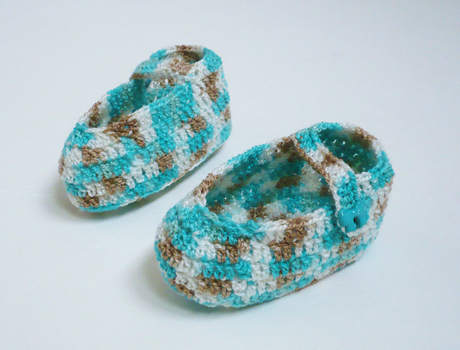 chaussons bébé crochet22