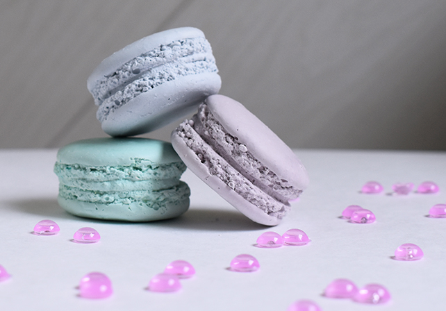 macarons plâtre moule silicone