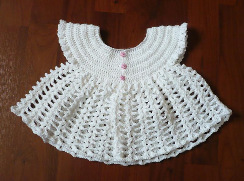 gilet papillon crochet 2