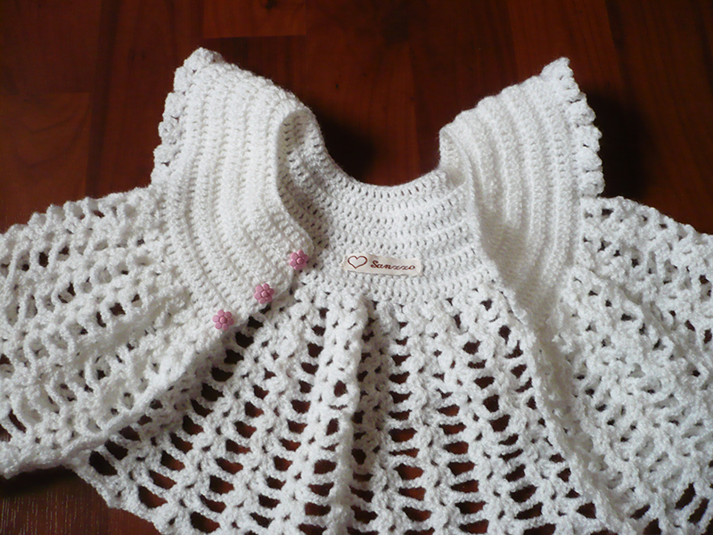 gilet papillon crochet